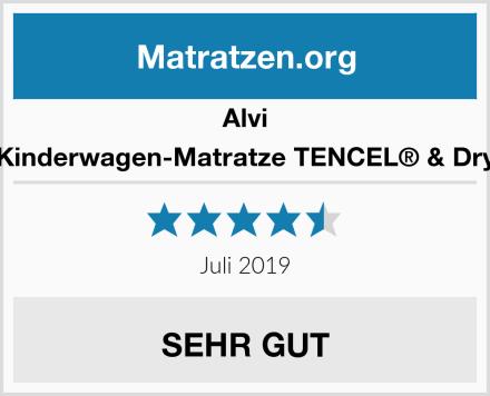 Alvi Kinderwagen-Matratze TENCEL® & Dry Test