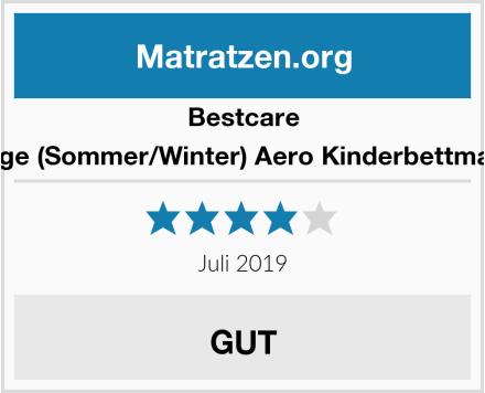 Bestcare 2-seitige (Sommer/Winter) Aero Kinderbettmatratze Test