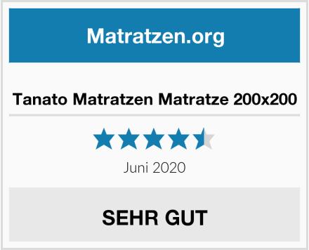 Tanato Matratzen Matratze 200x200 Test