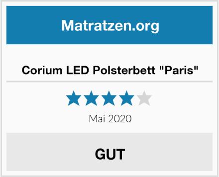 """Corium LED Polsterbett """"Paris"""" Test"""