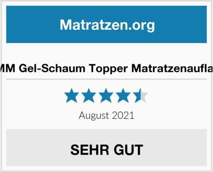 BMM Gel-Schaum Topper Matratzenauflage Test