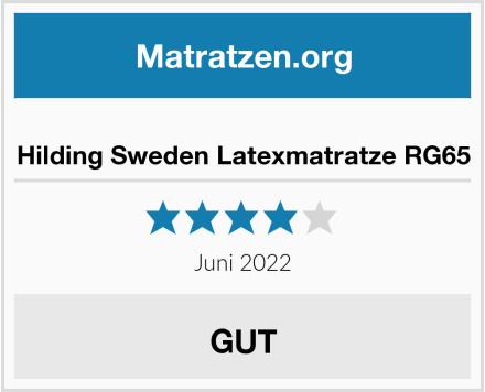 Hilding Sweden Latexmatratze RG65 Test