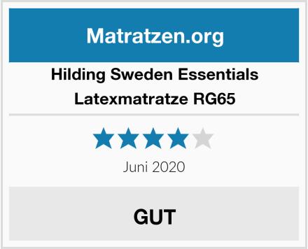 Hilding Sweden Essentials Latexmatratze RG65 Test