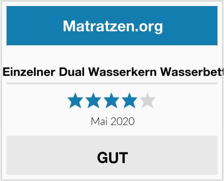 No Name WABEZU Einzelner Dual Wasserkern Wasserbettmatratze Test