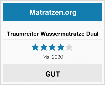 No Name Traumreiter Wassermatratze Dual Test