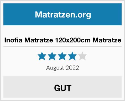 Inofia Matratze 120x200cm Matratze Test