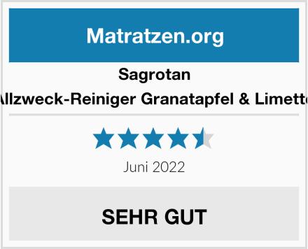 Sagrotan Allzweck-Reiniger Granatapfel & Limette Test