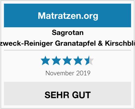 Sagrotan Allzweck-Reiniger Granatapfel & Kirschblüte Test