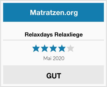 Relaxdays Relaxliege Test