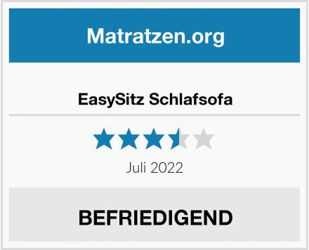 EasySitz Schlafsofa Test