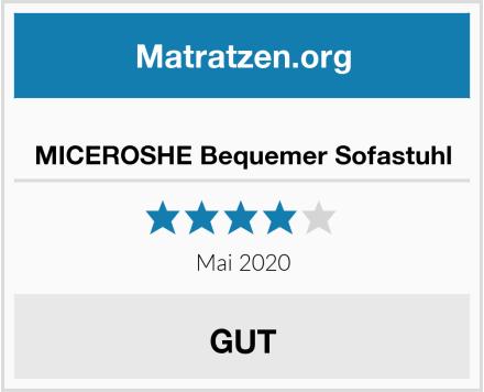 No Name MICEROSHE Bequemer Sofastuhl Test