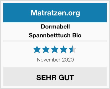 Dormabell Spannbetttuch Bio Test