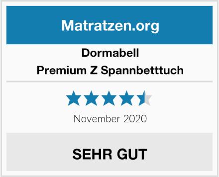 Dormabell Premium Z Spannbetttuch Test
