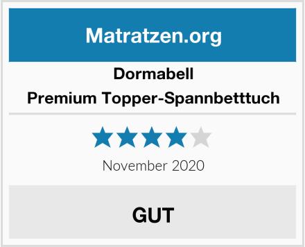 Dormabell Premium Topper-Spannbetttuch Test