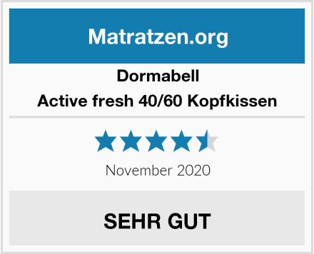 Dormabell Active fresh 40/60 Kopfkissen Test