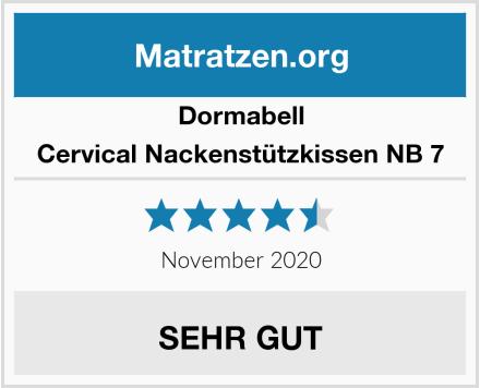 Dormabell Cervical Nackenstützkissen NB 7 Test