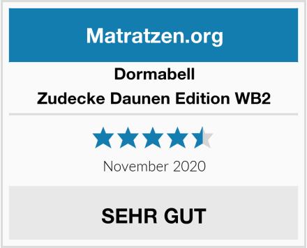 Dormabell Zudecke Daunen Edition WB2 Test