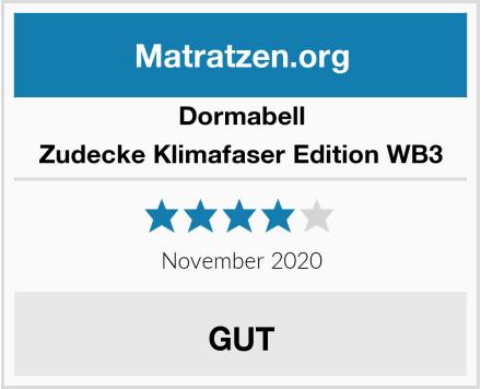 Dormabell Zudecke Klimafaser Edition WB3 Test