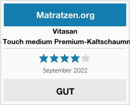 Vitasan Gel Duo Touch medium Premium-Kaltschaummatratze Test