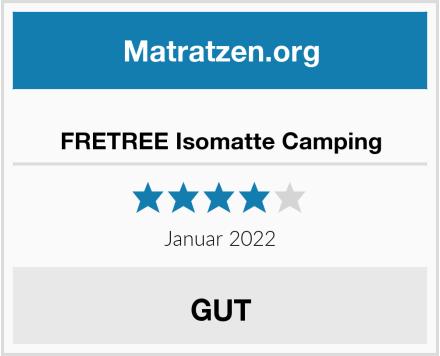 FRETREE Isomatte Camping Test