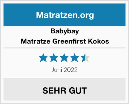 Babybay Matratze Greenfirst Kokos Test