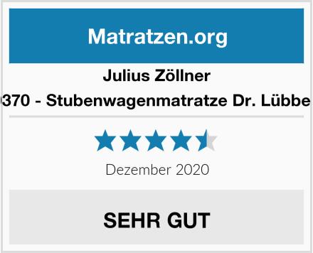 Julius Zöllner 1510070370 - Stubenwagenmatratze Dr. Lübbe Air Plus Test
