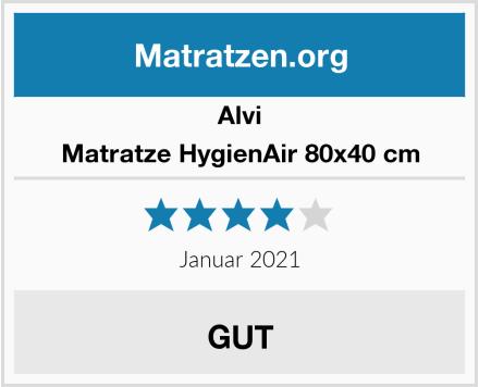 Alvi Matratze HygienAir 80x40 cm Test