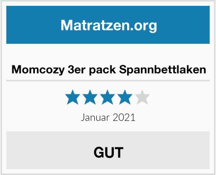 Momcozy 3er pack Spannbettlaken Test