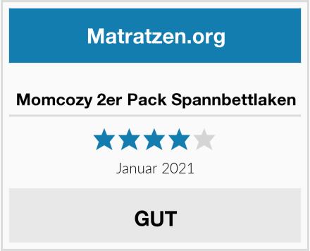 Momcozy 2er Pack Spannbettlaken Test