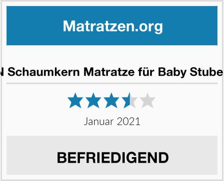WALDIN Schaumkern Matratze für Baby Stubenwagen Test