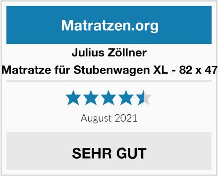 Julius Zöllner Matratze für Stubenwagen XL - 82 x 47 Test