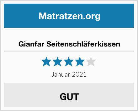 Gianfar Seitenschläferkissen Test