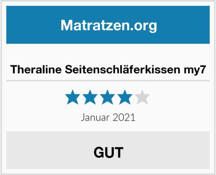 Theraline Seitenschläferkissen my7 Test