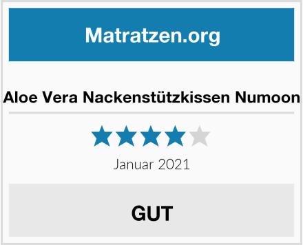 Aloe Vera Nackenstützkissen Numoon Test