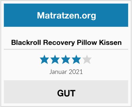 Blackroll Recovery Pillow Kissen Test