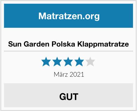Sun Garden Polska Klappmatratze Test