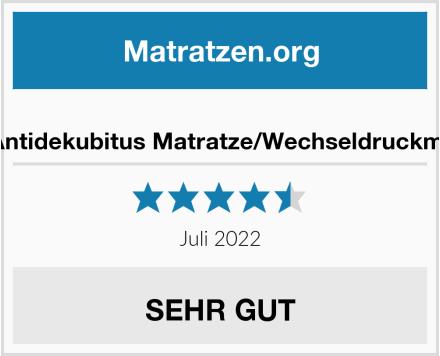 Pulox Antidekubitus Matratze/Wechseldruckmatratze Test