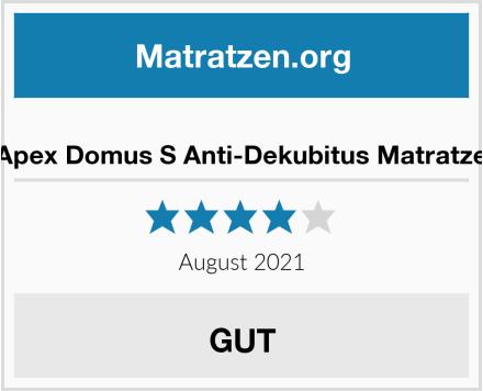 Apex Domus S Anti-Dekubitus Matratze Test