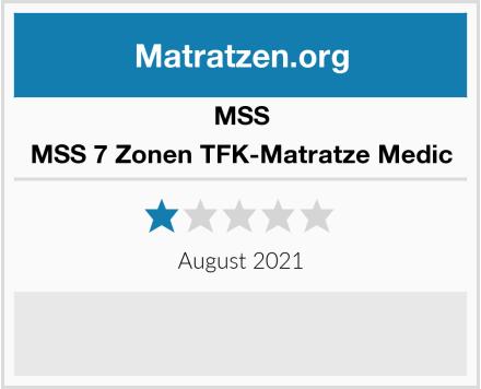 MSS MSS 7 Zonen TFK-Matratze Medic Test