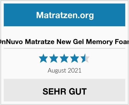OnNuvo Matratze New Gel Memory Foam Test