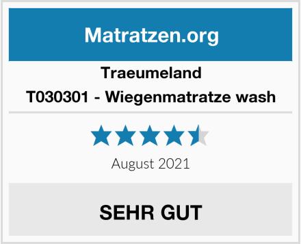 Traeumeland T030301 - Wiegenmatratze wash Test