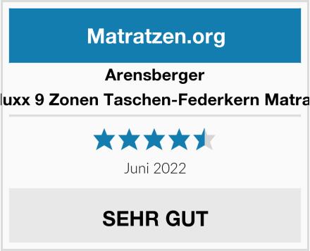 Arensberger Deluxx 9 Zonen Taschen-Federkern Matratze Test