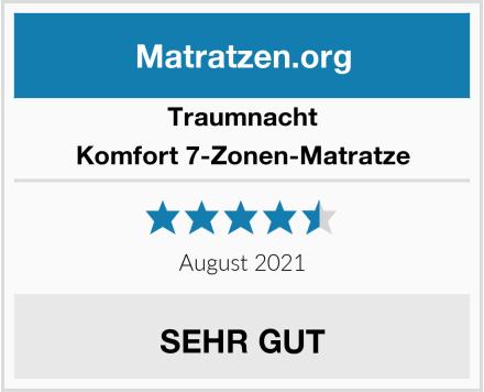 Traumnacht Komfort 7-Zonen-Matratze Test