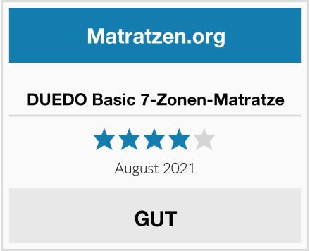 DUEDO Basic 7-Zonen-Matratze Test