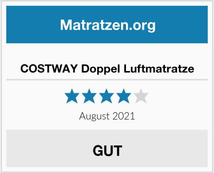 COSTWAY Doppel Luftmatratze Test