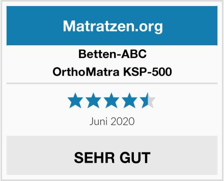 Betten-ABC OrthoMatra KSP-500 Test