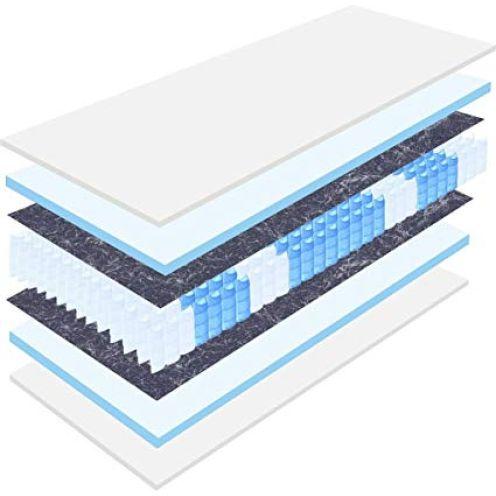 Matratzen Perfekt 7-Zonen Tonnentaschenfederkernmatratze