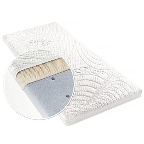 Alvi Matratze für Beistellbett & Wiege Tencel & Dry